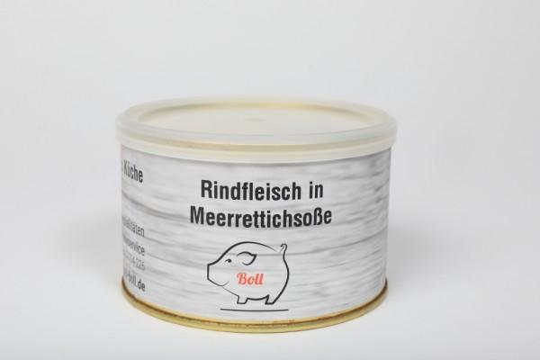 Boll´s Rindfleisch in Meerrettichsoße tafelfertig 1x400g