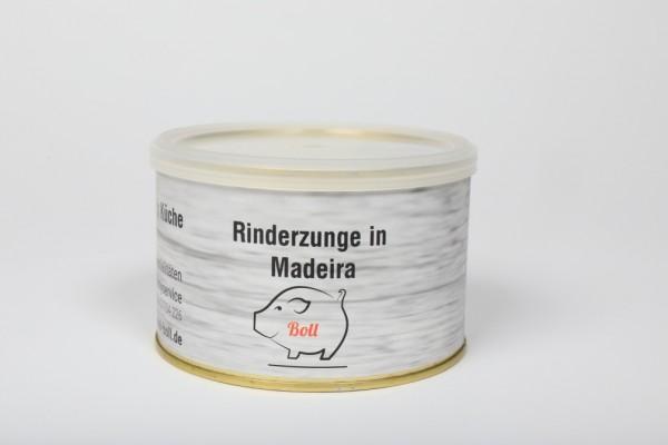 Rinderzunge in Madeira tafelfertig